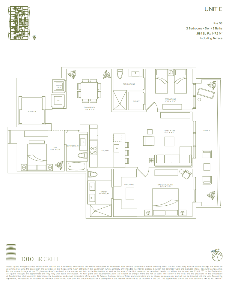New condos at 1010 brickell the luxury team for 1010 midtown floor plans
