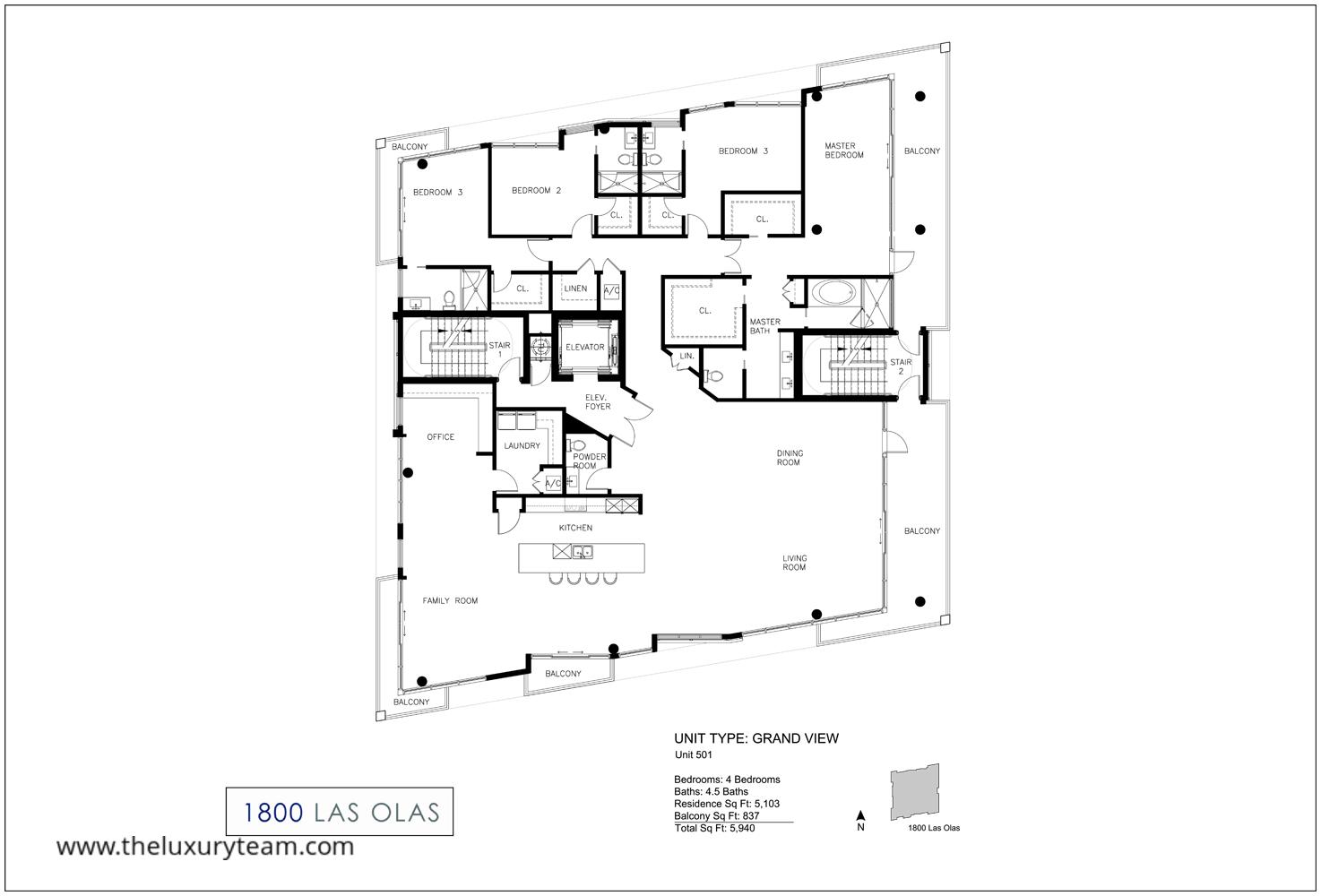 Fort Lauderdale Condos For Sale 1800 Las Olas The Luxury Team