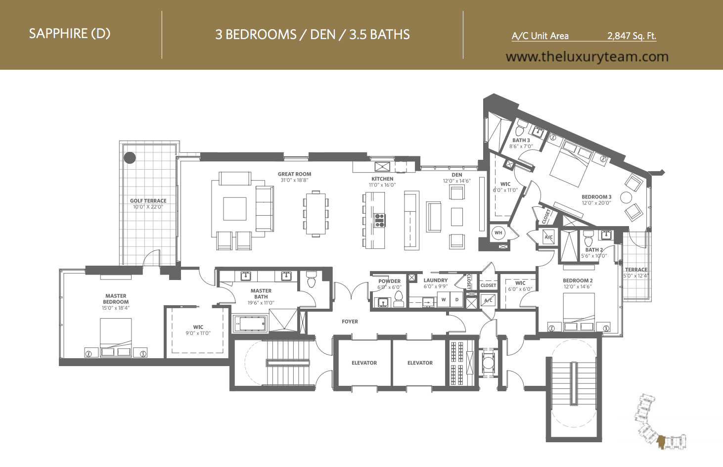 Floor Plans For West Palm Beach Condos