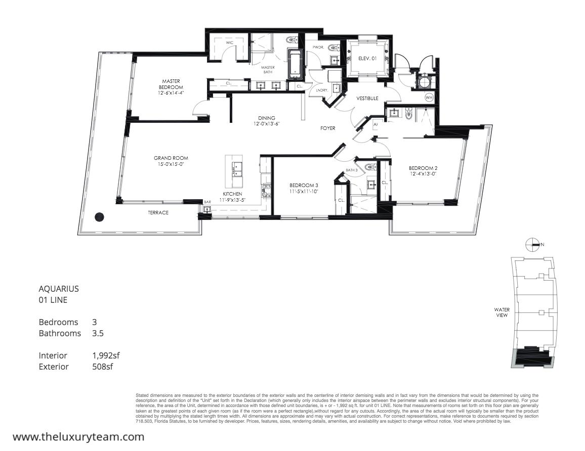 Do It Yourself Home Design: New Condos At Aquarius 15