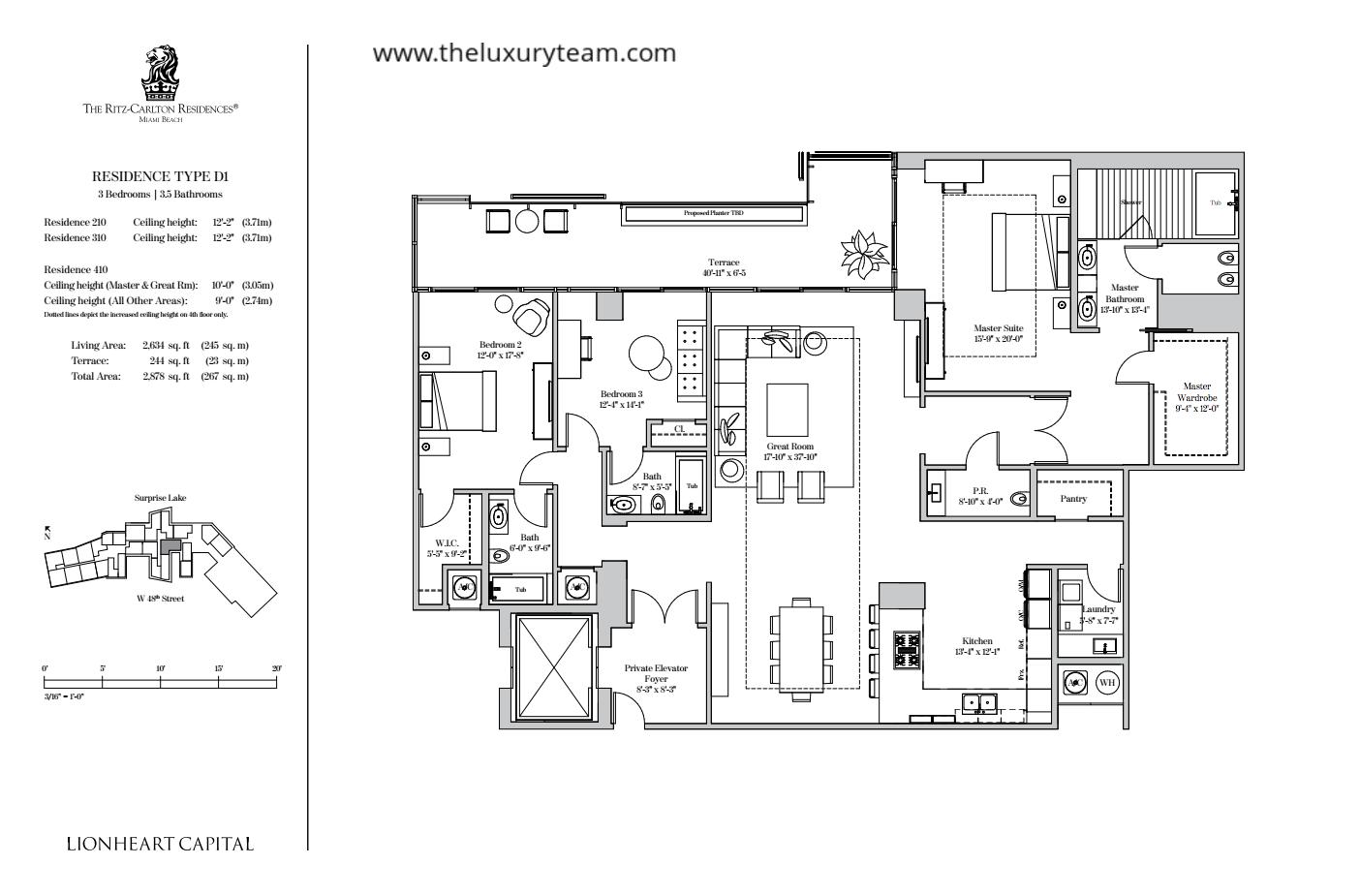 New Condos At Ritz Carlton Residences Sunny Isles The