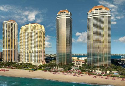The Estates at Acqualina in Miami's Sunny Isles Beach, Florida